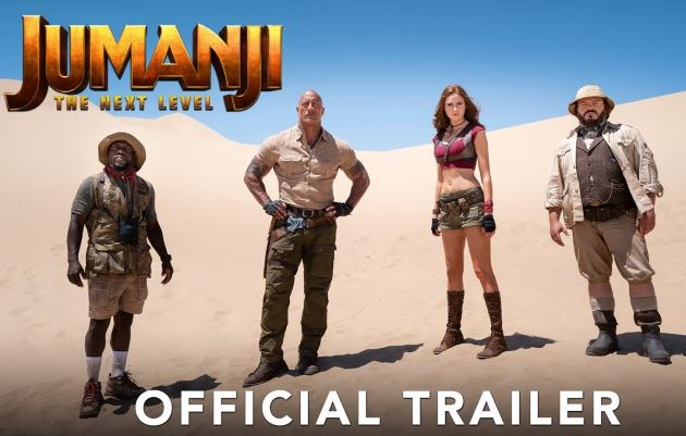 Jumanji: The Next Level Raup US$19,4 Juta pada Pemutaran Perdana
