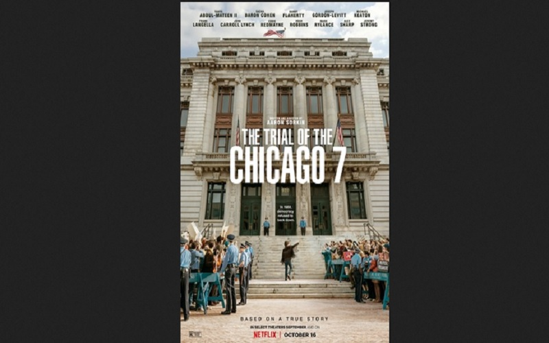 The Trial of the Chicago 7 Diprediksi Raup Banyak Nominasi Oscars